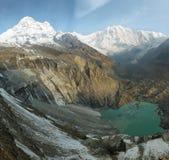 ΑΜ Annapurna Ι στο Νεπάλ Στοκ Εικόνα
