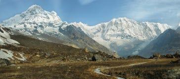 ΑΜ Annapurna Ι στο Νεπάλ Στοκ Εικόνες