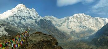 ΑΜ Annapurna Ι στο Νεπάλ Στοκ Φωτογραφίες