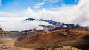 ΑΜ Haleakala, Maui, Χαβάη Στοκ εικόνες με δικαίωμα ελεύθερης χρήσης