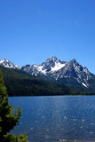 ΑΜ McGowan και λίμνη του Stanley - Αϊντάχο Στοκ εικόνα με δικαίωμα ελεύθερης χρήσης