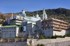 ΑΜ pantaleon ST μοναστηριών athos Στοκ Φωτογραφία