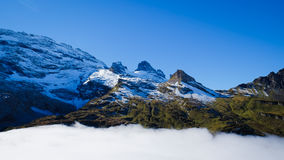ΑΜ Titlis στην Ελβετία Στοκ Εικόνες