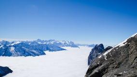 ΑΜ Titlis στην Ελβετία Στοκ Εικόνα