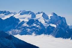 ΑΜ Titlis στην Ελβετία Στοκ Φωτογραφίες