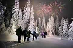 Ανάβαση νύχτας Hoverla στοκ φωτογραφίες με δικαίωμα ελεύθερης χρήσης