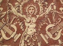 ανάγλυφο Άγιος της Cecilia στοκ φωτογραφία με δικαίωμα ελεύθερης χρήσης