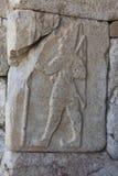Ανάγλυφο βασιλιάδων Hittites στοκ εικόνα με δικαίωμα ελεύθερης χρήσης