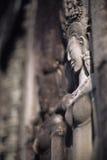 ανάγλυφο της Καμπότζης angkor bas w Στοκ Εικόνες