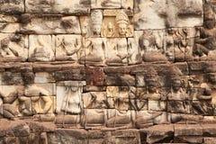 ανάγλυφο angkor στοκ φωτογραφία με δικαίωμα ελεύθερης χρήσης