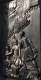 ανάγλυφο Charles Πράγα γεφυρών Στοκ Εικόνα
