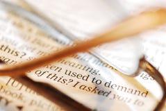 ανάγνωση έννοιας Στοκ φωτογραφίες με δικαίωμα ελεύθερης χρήσης