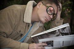 ανάγνωση ατόμων Στοκ εικόνες με δικαίωμα ελεύθερης χρήσης