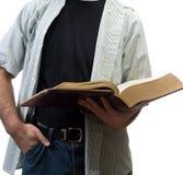 ανάγνωση Βίβλων Στοκ εικόνα με δικαίωμα ελεύθερης χρήσης