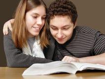 ανάγνωση διασκέδασης στοκ φωτογραφία με δικαίωμα ελεύθερης χρήσης