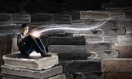 Ανάγνωση και φαντασία Στοκ Εικόνα