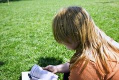 ανάγνωση πάρκων Στοκ Εικόνες