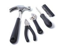 Ανάμεικτα εργαλεία χεριών σε μια έννοια DIY Στοκ εικόνα με δικαίωμα ελεύθερης χρήσης
