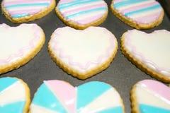 ανάμεικτα μπισκότα Στοκ Εικόνες