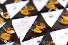 Ανάμεικτα νόστιμα τρόφιμα δάχτυλων Στοκ φωτογραφία με δικαίωμα ελεύθερης χρήσης
