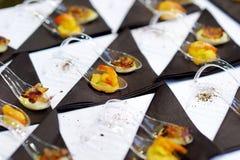 Ανάμεικτα νόστιμα τρόφιμα δάχτυλων Στοκ Εικόνες