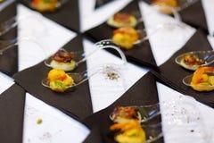 Ανάμεικτα νόστιμα τρόφιμα δάχτυλων Στοκ Εικόνα