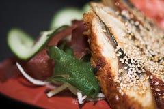 ανάμεικτα σούσια μεσημεριανού γεύματος Στοκ φωτογραφία με δικαίωμα ελεύθερης χρήσης
