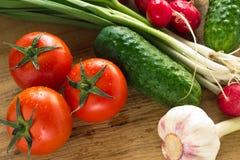 Ανάμεικτα φρέσκα οργανικά λαχανικά στοκ φωτογραφίες με δικαίωμα ελεύθερης χρήσης