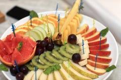 Ανάμεικτα φρούτα Στοκ Εικόνες