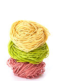 ανάμεικτα noodles τρία Στοκ Φωτογραφίες