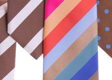 ανάμεικτες γραβάτες Στοκ εικόνα με δικαίωμα ελεύθερης χρήσης