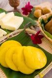 Ανάμεικτες κέικ και έρημοι Tradisional Μαλαισία Στοκ Εικόνες