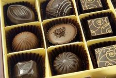 ανάμεικτες σοκολάτες στοκ φωτογραφία