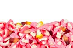 Ανάμεικτες gummy καραμέλες r Γλυκά ζελατίνας στοκ φωτογραφία με δικαίωμα ελεύθερης χρήσης
