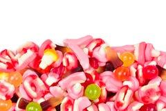 Ανάμεικτες gummy καραμέλες r Γλυκά ζελατίνας στοκ εικόνες με δικαίωμα ελεύθερης χρήσης