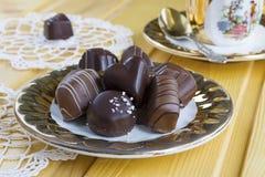 ανάμεικτη σοκολάτα καρα& Στοκ Εικόνα