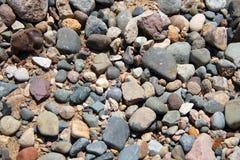 ανάμεικτοι βράχοι ανασκόπησης Στοκ φωτογραφία με δικαίωμα ελεύθερης χρήσης