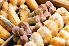 Ανάμεικτο γαλλικό ψωμί Στοκ Εικόνες