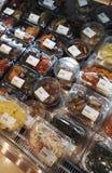 Ανάμεικτο κορεατικό τουρσί Kimchi και δευτερεύοντα πιάτα Στοκ εικόνα με δικαίωμα ελεύθερης χρήσης