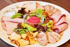 ανάμεικτο κρέας λιχουδιών Στοκ εικόνες με δικαίωμα ελεύθερης χρήσης