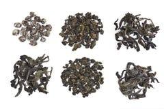 ανάμεικτο τσάι φύλλων oolong στοκ εικόνα με δικαίωμα ελεύθερης χρήσης