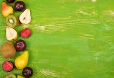 Ανάμεικτο υπόβαθρο φρούτων στοκ εικόνες
