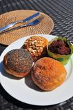 Ανάμεικτο ψωμί κέικ Στοκ φωτογραφία με δικαίωμα ελεύθερης χρήσης