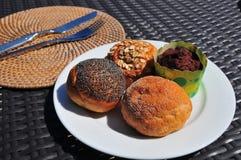 Ανάμεικτο ψωμί κέικ Στοκ Εικόνα