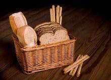 ανάμεικτο ψωμί καλαθιών Στοκ Εικόνα