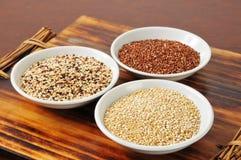 Ανάμεικτο quinoa στοκ εικόνα