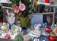 ανάμνηση του Τζάκσον michael Στοκ φωτογραφίες με δικαίωμα ελεύθερης χρήσης