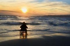 ανάπηρη γυναίκα αναπηρικών καρεκλών Στοκ φωτογραφίες με δικαίωμα ελεύθερης χρήσης