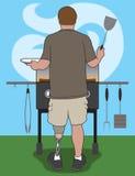Ανάπηρος Barbecuer απεικόνιση αποθεμάτων