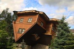 Ανάποδο σπίτι, Πολωνία Στοκ εικόνες με δικαίωμα ελεύθερης χρήσης